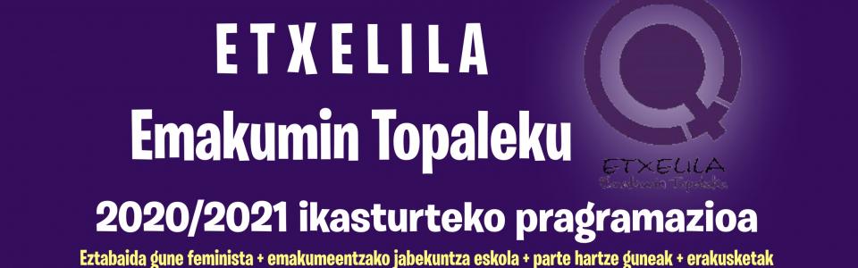 Etxelilako  programazioa  banner