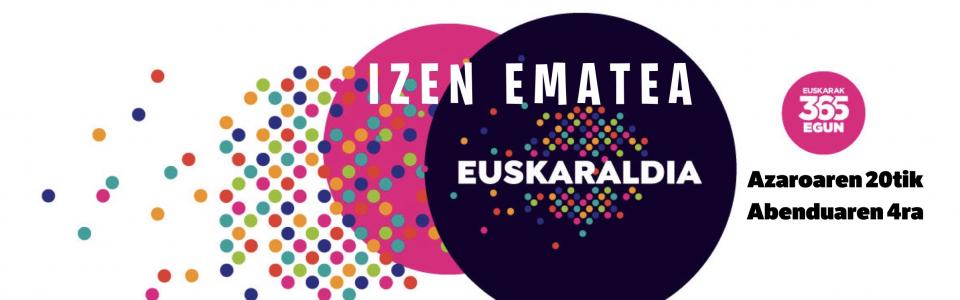 Euskaraldiko  izen  ematea