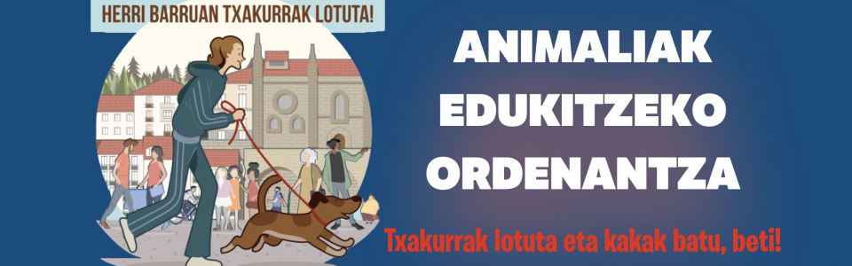 Txakurrak  banner